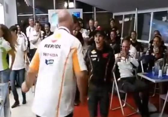 Rock and Roll in casa Honda, un Marquez sfrenato!