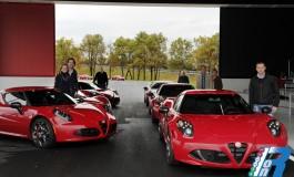 Alfa Romeo 4C - Launch Edition, primi esemplari consegnati
