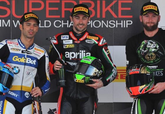 SBK Jerez: Laverty vince gara 1, Sykes campione Mondiale!