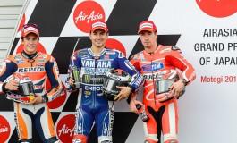 Motegi: Lorenzo pole, segue Marquez e a sorpresa Hayden... Rossi 5°