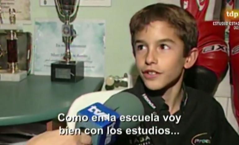 Intervista a Marc Marquez a 10 anni… il futuro campione del mondo!