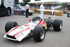 Ad una rievocazione sulla Honda Formula 1
