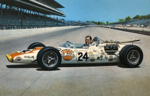 Graham Hill Lola Indy 1966