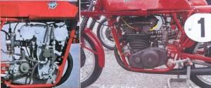 Motore MV Agusta 125 desmodromico