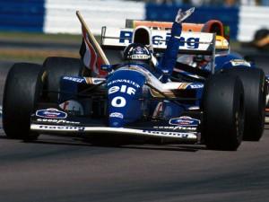Damon Hill (Williams) con il famigerato n° zero
