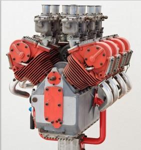 Motore V8 Formula 1 1500cc desmodromico progettato da Taglioni per la OSCA ?)