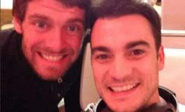 Selfie di Pedrosa... Mitico Crutchlow!