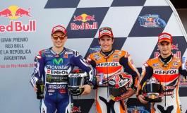 GP Argentina: Marquez imprendibile, 3° pole consecutiva - Rossi 6°