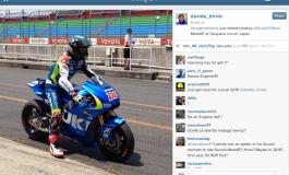 Eugene Laverty comincia i test sulla sua nuova Suzuki HRH1