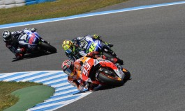 MotoGP Jerez: Marquez 4ª vittoria consecutiva, Rossi 2° ma ha grinta da vendere!
