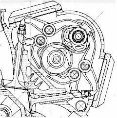 Desmodromico del V8 1500 Taglioni x OSCA F1 1960