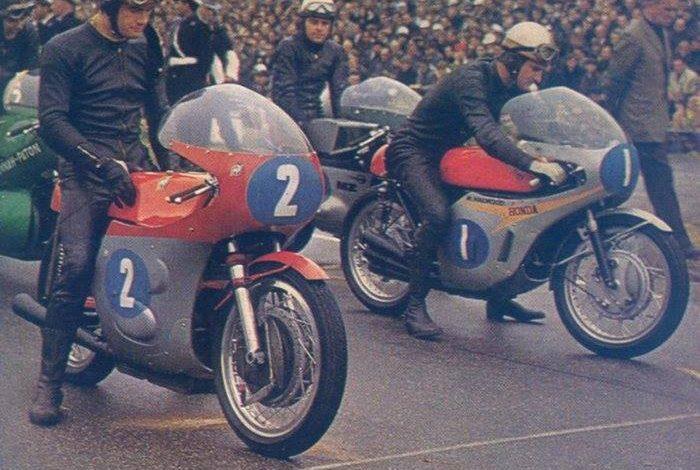 Negli anni '60 Honda ed MV Agusta erano grandi avversarie; qualcosa le accomuna