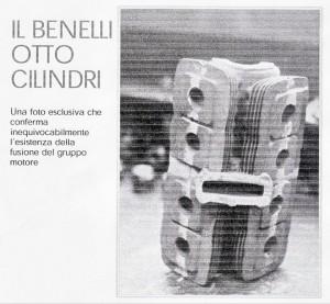 Foto rara del monoblocco Benelli 250 8V