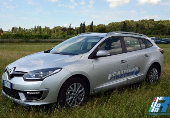 Prova Renault Megane Sportour in direzione Parco Giardino Sigurtà
