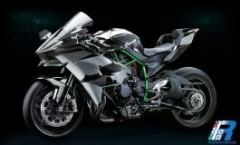 Kawasaki H2R Ninja - Comunicato Ufficiale - FOTO, caratteristiche e potenza