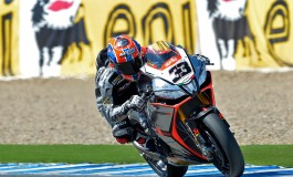 Superbike Jerez: Moto italiane conquistano il podio, Melandri vince gara 1... segue Guintoli e Davies