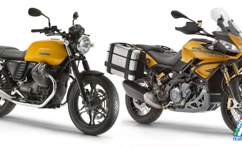 Nuova Moto Guzzi V7 e Nuova Aprilia Caponord 1200 Rally