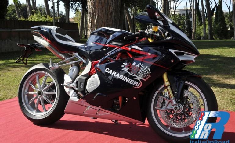 Mv Agusta  F4 RR, per il Bicentenario dell'Arma dei Carabinieri