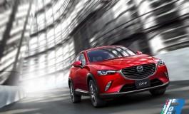 Nuova Mazda CX-3 al suo debutto mondiale