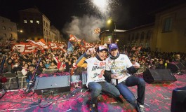 Grande festa per i campioni Marquez