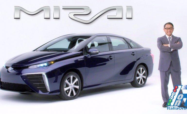 MIRAI la vettura ad idrogeno di Toyota