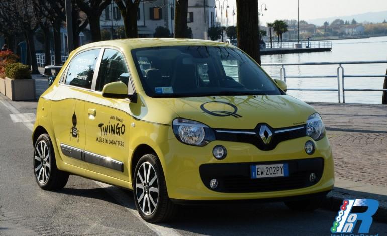 Prova Renault Twingo, agile di carattere sulle strade d'Iseo