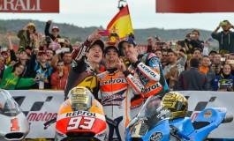 MotoGP Valencia, Marquez conclude con il record di 13 vittorie