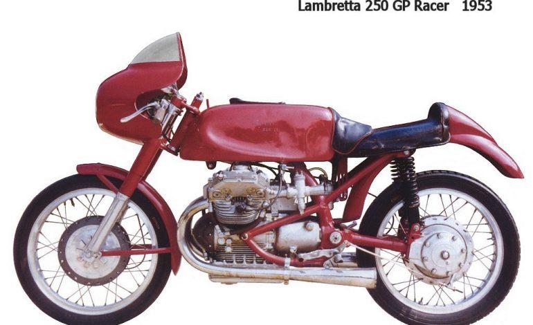 Anni '50, la Lambretta tenta l'assalto alla combattutissima classe 250 del Motomondiale