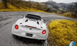 Anteprima mondiale: Alfa Romeo 4C Spider