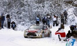 Le DS 3 WRC, sono le piu' performanti del Rally di Montecarlo