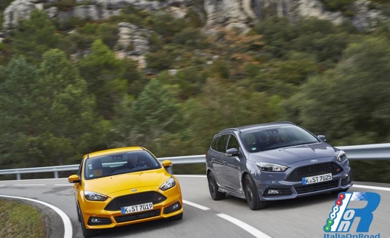 Nuova Ford Focus ST: prestazioni, comfort ed efficienza,  e un'inedita versione diesel