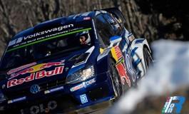 Storica tripletta Volkswagen al Rally di Monte Carlo