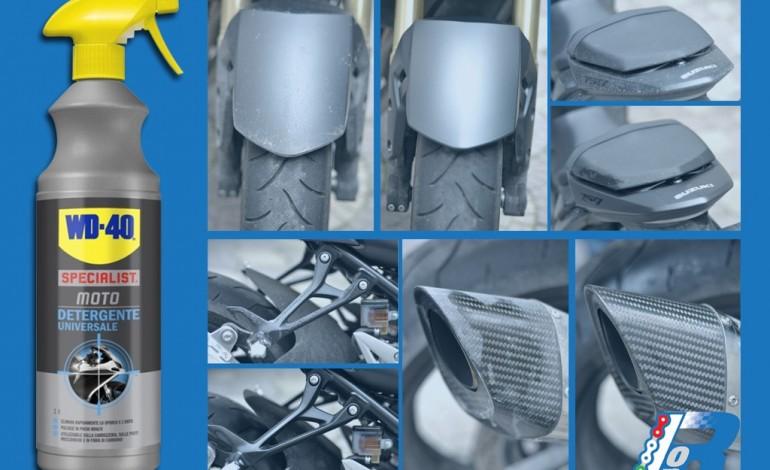 Detergente universale WD-40, Specialist per la tua moto! – La prova