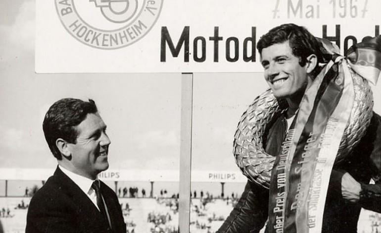 Il mistero dell'unica volta che il campione Agostini ha gareggiato con una Ducati