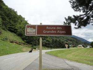 route de grands alpes