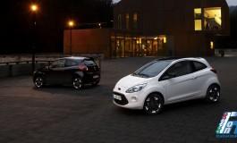Ford celebra la moda, elegante e senza tempo, del bianco e nero con le nuove Fiesta e Ka Black e White Edition