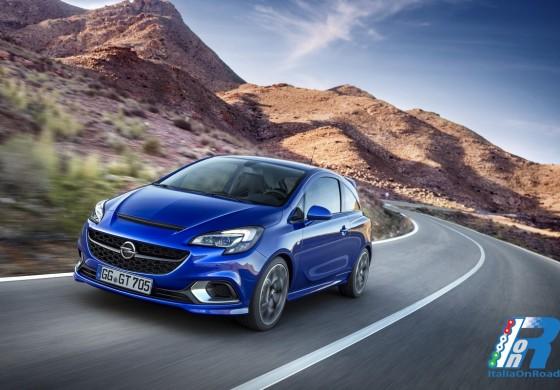 Nuova Opel Corsa OPC: atleta di quinta generazione