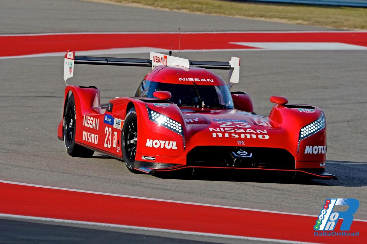 Nissan Svela L Auto Della 24 Ore Di Le Mans Durante Il