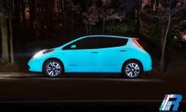 Nissan è la prima casa automobilistica ad utilizzare la vernice fluorescente