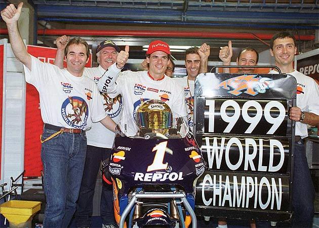 Campionato del Mondo 1999, una stagione interlocutoria per la classe 500