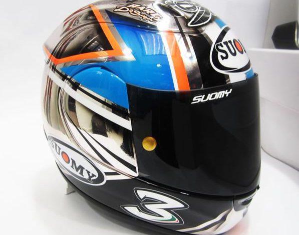 Nuovo casco per Max Biaggi