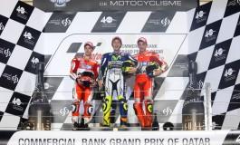 Podio tricolore in MotoGP a Losail