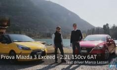 Presentazione Test Drive Tour con DS3 THP e Mazda 3 Exceed