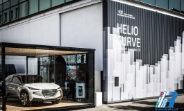 Hyundai presenta 'Sculpture In Motion 2.0 - Helio Curve' alla Milano Design Week 2015