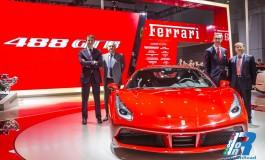 La Ferrari 488 GTB fa il suo debutto in Asia al Salone di Shanghai