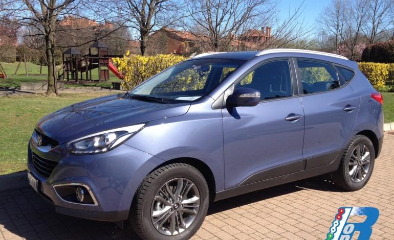Prova Hyundai ix35: primo contatto