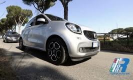 Nuova smart forfour 90 CV