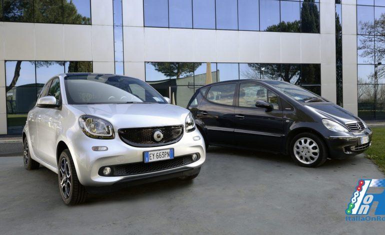 """car2go ancora più """"grande"""": per la prima volta al mondo arriva nella flotta la nuova smart forfour"""