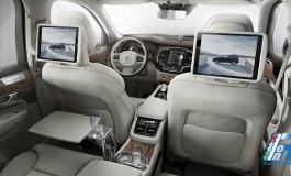 Volvo XC90 Excellence al top della gamma presentata al Salone dell'Automobile di Shanghai