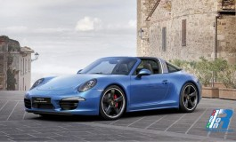911 Targa 4S: una Limited Edition per i 30 anni di Porsche Italia